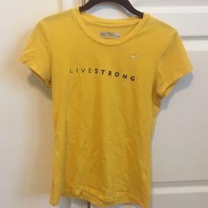 Nike Livestrong Women's Shirt Size Small